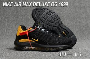 nike air max deluxe fit ebay hot 1999 noir or